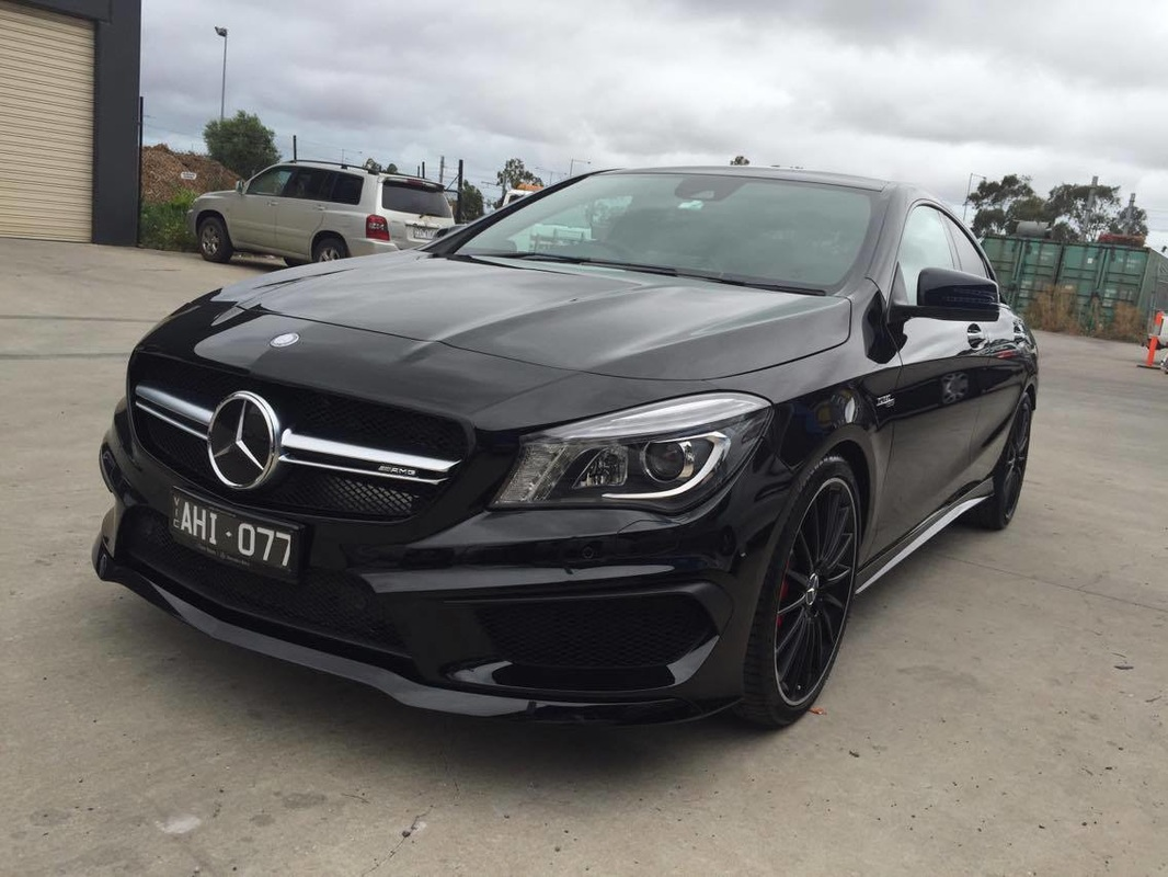 2016 mercedes benz cla 45 amg paint protection gsd car for Mercedes benz detailing