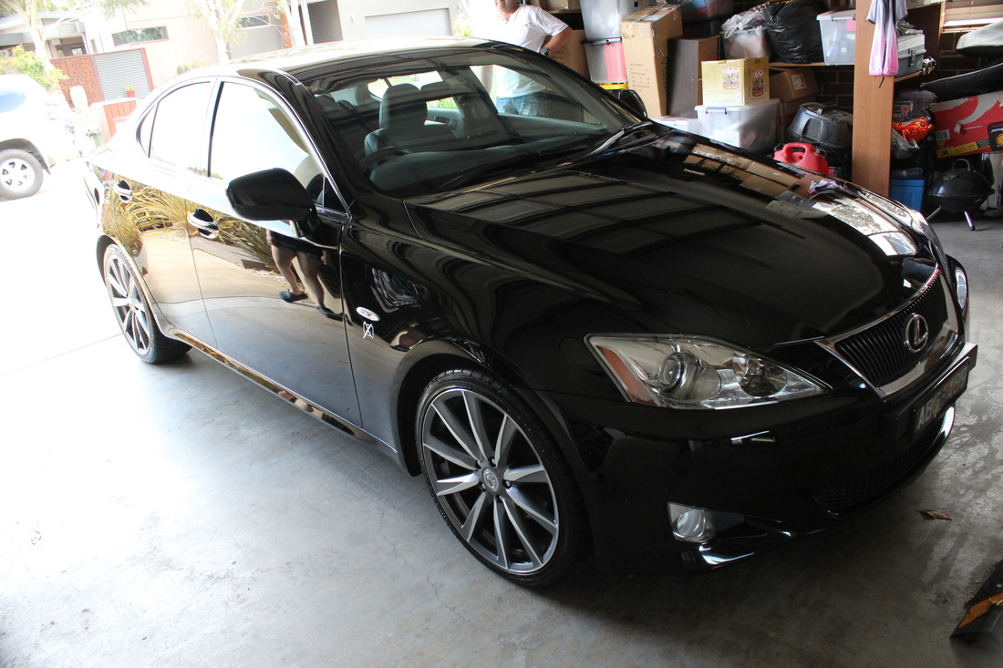 Lexus IS250 Paint correction