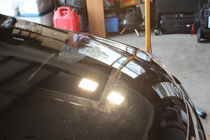 Lexus IS250 paint correction test spot